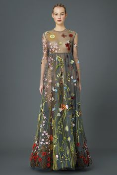 Shall I compare thee to a summer's day - Valentino pre-fall 2015 collection