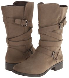 Amazon.com: Report Women's Jesslyn Harness Boot: Clothing