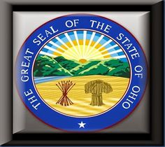 The Great Seal Of The State Of Ohio… http://www.myqualitytime.net/2014/08/the-great-seal-of-state-of-ohio.html #OHIO #ADENA