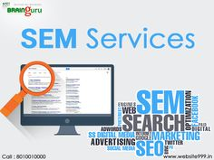 Digital marketing companies offers the #SEMServices to promote your business on the internet. It plays a vital role to create an online presence and increase the reputation of your business so that client enables to reach your website and engaged with the business. See more @ http://bit.ly/2l6watK #Website999 #SearchEngineMarketing
