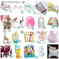 mes produits indispensables pour bébé (0-2 ans) favoris bébé