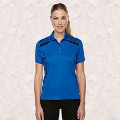 Ash City-Extreme-Tempo Polo Ladies Recycled Polyester Performance Polo-75112