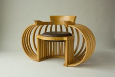 Torus Chair: Reid Anderson: Wood Chair | Artful Home