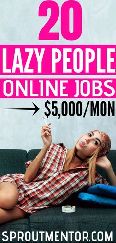 Are you a lazy person looking for a work from home job? Here are 20 high paying side hustles for lazy people. Work From Home Opportunities, Work From Home Tips, Make Money From Home, Way To Make Money, Make Money Online, Employment Opportunities, Marketing Jobs, Affiliate Marketing, Lazy Person