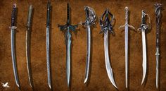 sword concepts by ~thedarkestseason on deviantART