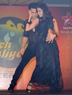Rithvik Dhanjani and Asha Negi at the season launch of 'Nach Baliye - 6' #Bollywood #Fashion #Style #Beauty
