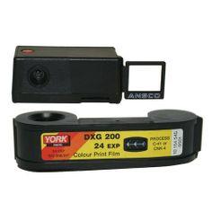 Mini 110 Spy Camera w/ISO 200 Color Film 24 Exp 3-Pack Private Label Agfa