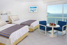 Habitación Estándar doble Hotel Calinda Beach Acapulco