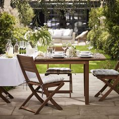 Get the #garden summer-ready with this #chic and simple #Nordina extending #dining #table is perfect for entertaining. Our all-weather #furniture can be left outside all #summer so you can relax and make the most of those sunny days. [T656982] by marksandspencer