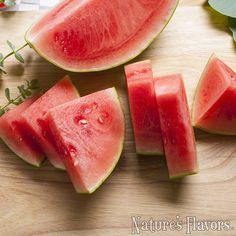 Organic Watermelon Flavor Concentrate #NaturesFlavors