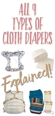 Understanding the types of cloth diapers and which would be best for your family can feel overwhelming, so I created a quick handbook just for you!