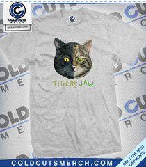 96da26b4237 Cold Cuts Merch - Tigers Jaw Cat Shirts
