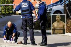 Hicham Diop kick-boxeur et ex-militaire attaque des policiers en rue à Schaerbeek (Belgique) et tente de s'emparer ... - S'informer en temps réel