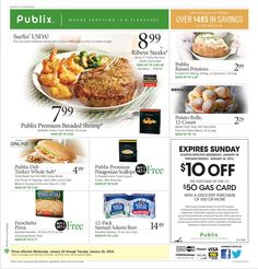 Publix Weekly Ad January 20 - 26, 2016 - http://www.olcatalog.com/grocery/publix-weekly-ad.html