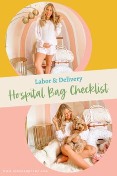 Hospital bag checklists! There are a million out there and I've gone through them all to come up with the perfect hospital bag checklist with all the most important things for the mom to be, dad to be and little one! Now you'll know what to pack too! #laboranddelivery #hospitalbag #dadtobe #whattopack