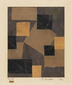 workman's tumblr - thirdorgan: Kurt Schwitters (Germany, 1887 - 1948)...