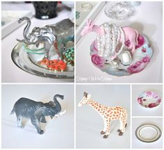 Honey We're Home: DIY Animal Jewelry Holder