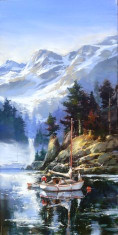 New Original Paintings by Brent Heighton