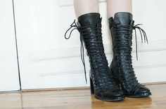 Ann Demeulemeester boots.