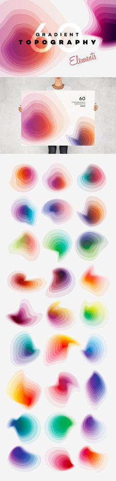 The Vibrant Textures, Patterns and Backgrounds Bundle