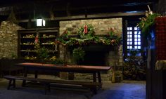 See decorations by Youngstown Garden Club in kitchen at Old Fort Niagara in Youngstown through Dec. 31, 2012. Hours are 9 a.m. to 5 p.m. daily. (The fort is closed on Christmas Day and New Year's Day.) Admission is $12 for adults, $8 for children 6 to 12 years old and free for children under 6.