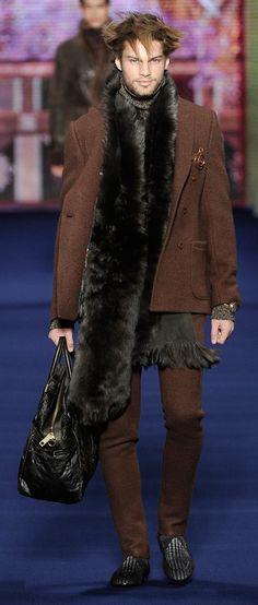 ETRO Man Autumn Winter 13-14 Fashion Show