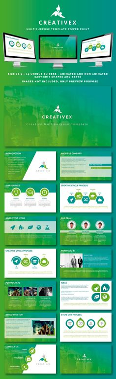 Creativex PowerPoint Template #slides Download: http://graphicriver.net/item/creativex-powerpoint/11499499?ref=ksioks