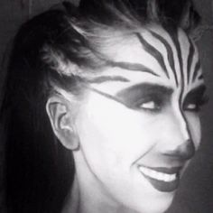 Zebra makeup Animal makep