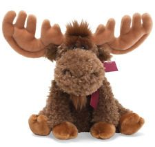 ★ New GUND Plush Toy MAPLE MOOSE Stuffed Animal SOFT Wild BROWN Floppy Holiday