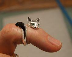 Forrest Cat Ring by Michaeltaton <3