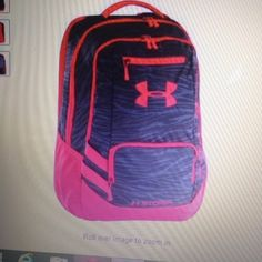 a912059026b3 Under Armour Hustle Backpack. One Size And Free Shipping  shopsmall BUY NOW   69.95 Under