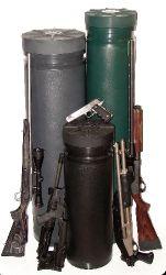 Underground Gun and Supply Storage Tube