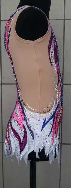 Competition Rhythmic Gymnastics Leotard ice от artmaisternia