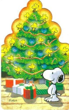 Snoopy and his Bird Tree