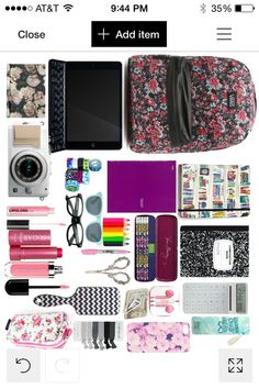 What's in my backpack... (Made by me) - bags, boho, handmade, clutch, shoulder, bucket bag *ad