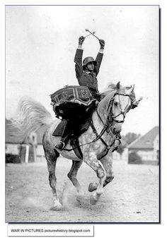 German Equestrian Drummer