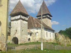 Evangelical fortified church XIII century,  Veseud, Sibiu county, Transilvania, Romania