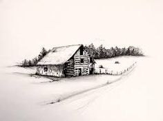Image result for drawings of old barns
