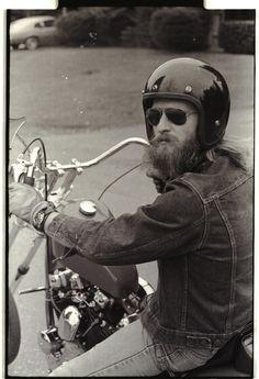 70's biker  #motorcycles