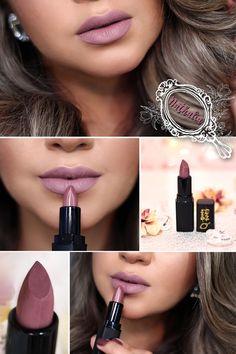 Inspirado na Nathalia Farias (Nathy) a nossa editora chefe do PPF <3 Um tonzinho de rosa acinzentado que eu achei que ficou lindo em todos os tons de pele, pois não é aquele rosa acinzentado que fica esbranquiçado nas negras, sabe? Nude Lipstick, Lipstick Colors, Makeup Lipstick, Lip Colors, Lipsticks, Colours, Pretty Poison, How To Make Hair, Make Up