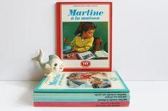 French Vintage Children's Book Martine at home by LAtelierDeNanaH #martinebook #frenchbook #childbook #kidsbook #livremartine #70s