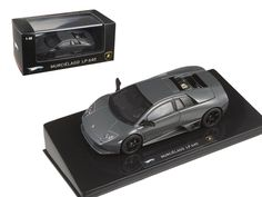 Hot wheels Lamborghini Murcielago LP 640 Gray Elite Edition 1/43 Diecast Model Car by Hotwheels - Brand new 1:43 scale diecast car model of Lamborghini Murcielago LP 640 Elite Edition die cast car by Hot Wheels. Brand new box. Rubber tires. Detailed interior, exterior. Dimensions approximately L-4 inches.-Weight: 1. Height: 5. Width: 9. Box Weight: 1. Box Width: 9. Box Height: 5. Box Depth: 5