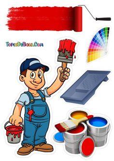 ToposBolo - Topos de Bolos grátis Art Graf, Bolo Mickey, Cake Toppers, Fireman Cake, Boyfriend Cake, Ladybird Cake, Hipster Stuff