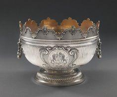 *Charles Stuart Harris (1852 - 1897)  A Victorian silver Monteith Bowl, London 1896