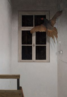 Dragan Bibin: The Human Condition / Dark Silence In Suburbia  #art_now #painting
