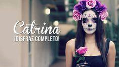 Catrina  Maquillaje y disfraz  Día de Muertos [Videos/Fotos]