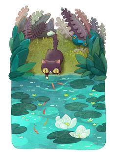 Little Big Adventures Of Pinkerton, a Cat Lost In The Woods | Bored Panda