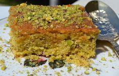 Νηστίσιμο κέικ με φυστίκι Αιγίνης Pistachio Cake, Christen, Meatloaf, Creative Ideas, Desserts, Food, Diy Creative Ideas, Tailgate Desserts, Deserts