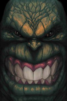 Abomination (Emil Blonsky) | art by Kaare Andrews