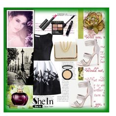 """""""Shein-contest"""" by zijadaahmetovic ❤ liked on Polyvore featuring Le Métier de Beauté, LORAC and Gucci"""